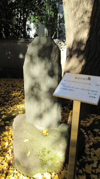 三囲稲荷神社(向島2丁目)富田木歩句碑