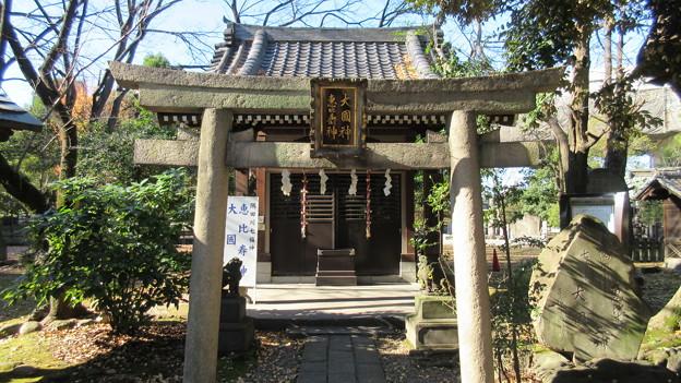 三囲稲荷神社(向島2丁目)大國神・恵比壽神