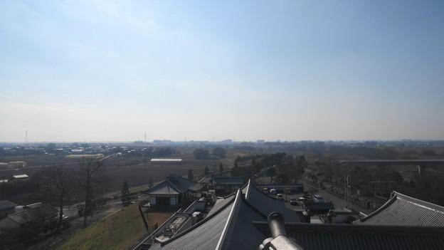 関宿城博物館・北東(千葉県野田市)