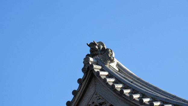 実相寺 鬼瓦(野田市)