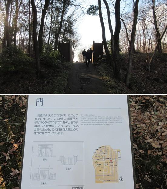 飛山城(宇都宮市営 飛山城史跡公園)門