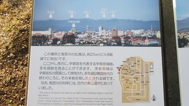 飛山城(宇都宮市営 飛山城史跡公園)澄んでいれば観える