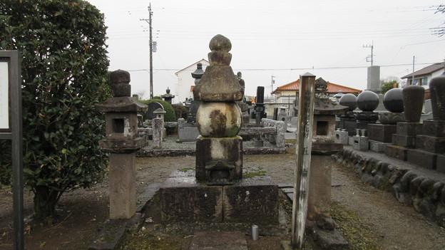 宝珠寺(伊勢崎市)藤原秀郷供養塔
