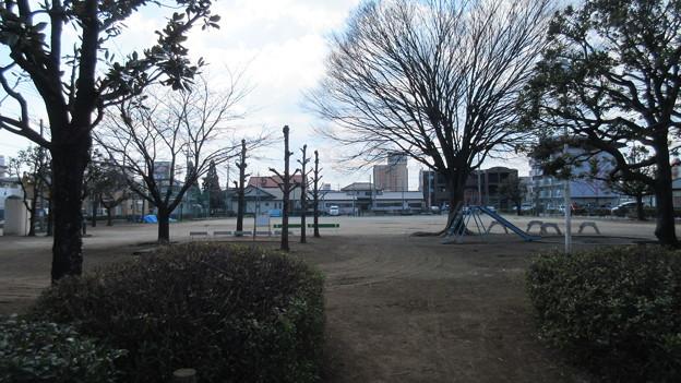 石倉城(前橋市)外堀跡