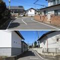 Photos: 保渡田城(高崎市)鉤の手・追手