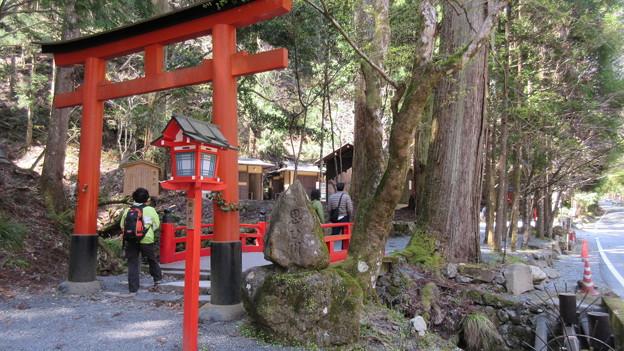 貴布禰総本宮 貴船神社(左京区)奥宮鳥居