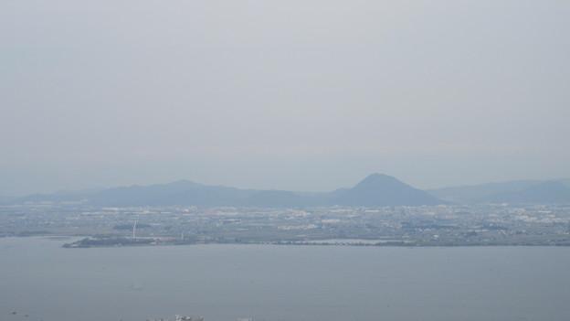 日吉大社(大津市)八王子山山頂より
