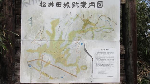 松井田城(安中市)駐車場入口
