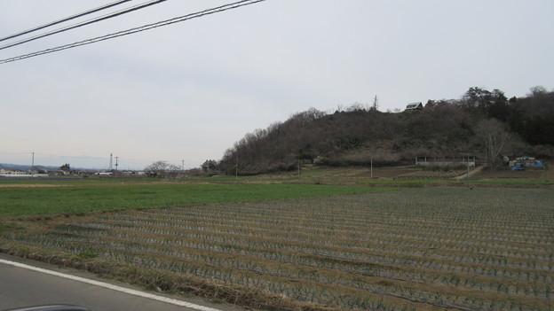国峰城(甘楽町)大手門眺望