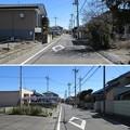 Photos: 倉賀野城(高崎市)二の丸・三の丸間堀(北面)