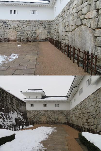 富山城(市営富山城址公園)鉄門鏡石