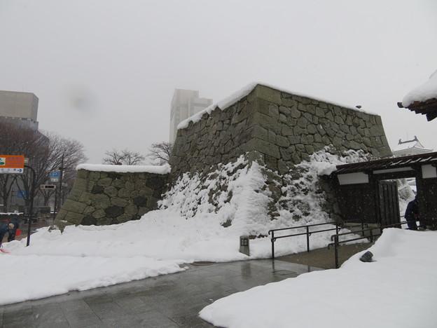 富山城(市営富山城址公園)千歳御門櫓台