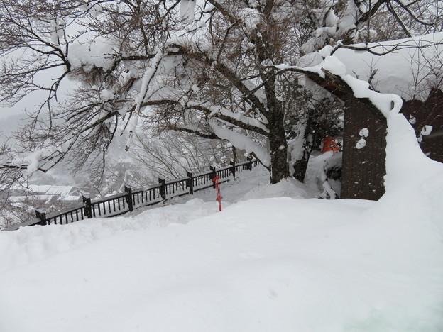 荻町城(岐阜県白川村)