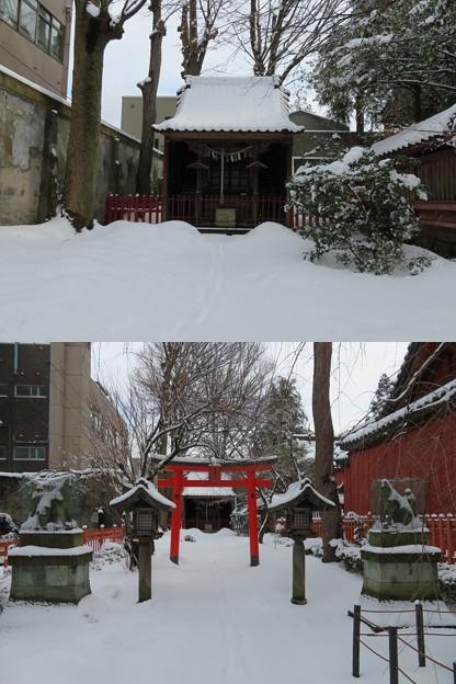 尾崎神社(金沢市)豊受稲荷神社