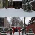 Photos: 尾崎神社(金沢市)豊受稲荷神社