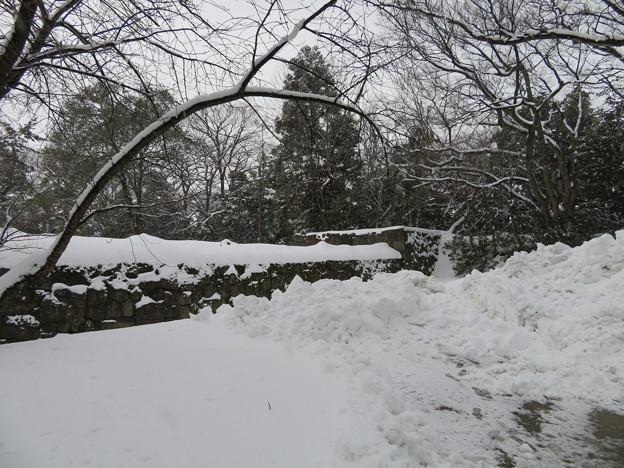金沢城(石川県営 金沢城公園)土橋門内より