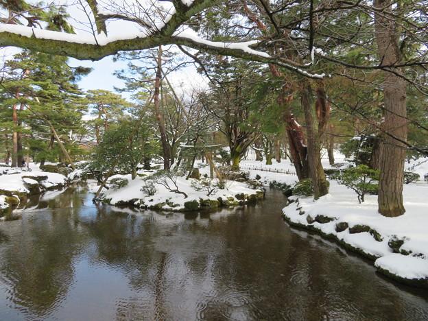 兼六園(金沢市)鶺鴒島