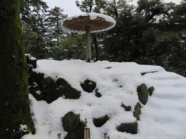 兼六園(金沢市)栄螺山 ・頂上