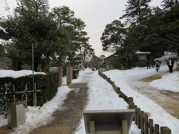 兼六園(金沢市)茶店通り