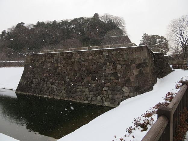 金沢城(石川県営 金沢城公園)鯉喉櫓台