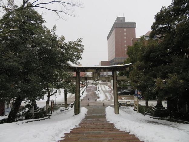 尾山神社(金沢市)鳥居