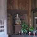 Photos: 常楽寺(鎌倉市)仏殿・蘭渓道隆像?
