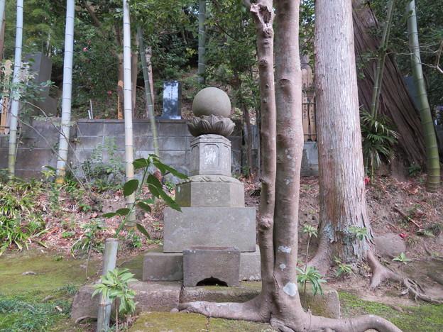 常楽寺(鎌倉市)龍渕胤墓
