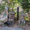 Photos: 勝長寿院跡(鎌倉市)源義朝・鎌田政清墓