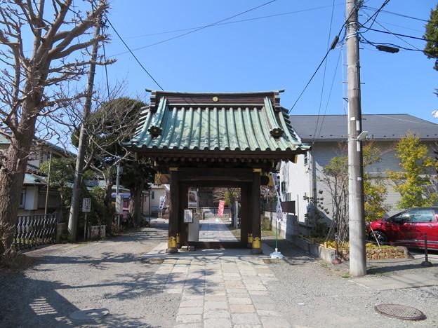 妙隆寺/千葉屋敷跡(鎌倉市)山門