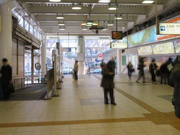小田急藤沢駅改札前(神奈川県)