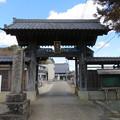 大網陣屋(大網白里市) 寶珠山蓮照寺山門