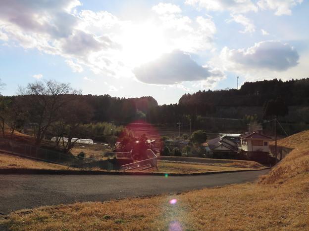 大椎城(千葉市緑区)西の空