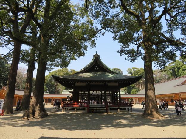 氷川神社(大宮区)舞殿