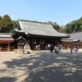 氷川神社(大宮区)拝殿