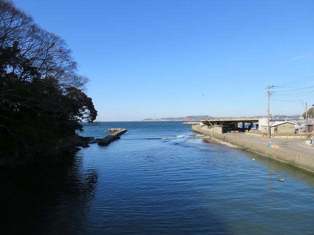 造海城(富津市)白狐川河口 :里見水軍軍港