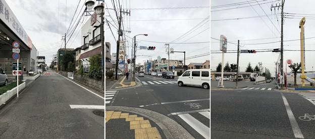 市民図書館入口交差点(藤沢市)