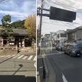 写真: 江ノ島電鉄 江ノ島駅を通過(藤沢市)