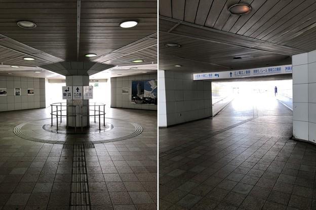 江の島入口交差点地下道(藤沢市)