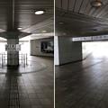 写真: 江の島入口交差点地下道(藤沢市)