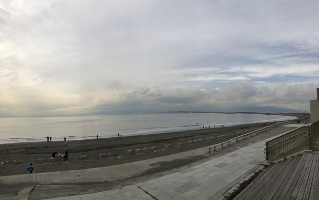 片瀬西浜海水浴場(藤沢市。県立湘南海岸公園)