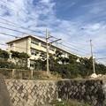 写真: 県立七里ガ浜高校(鎌倉市)