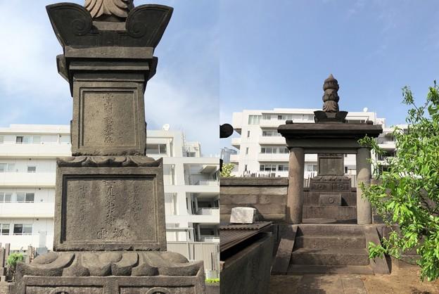 曹渓寺(南麻布)酒井雅楽頭忠世室(榊原式部少輔康政娘)墓