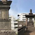 写真: 曹渓寺(南麻布)酒井雅楽頭忠世室(榊原式部少輔康政娘)墓