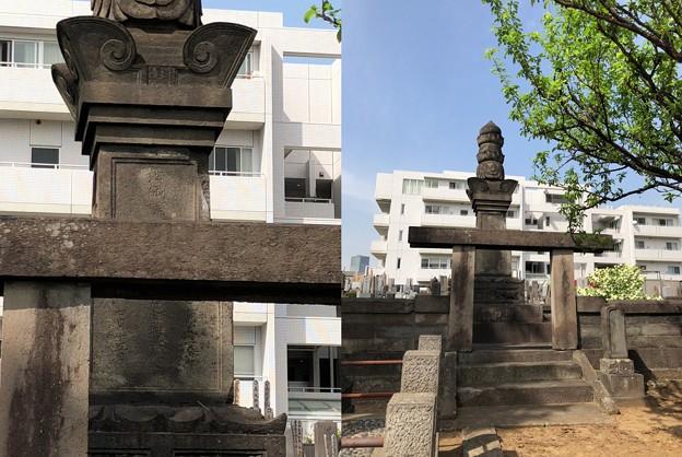 曹渓寺(南麻布)真田信吉室(酒井忠世娘) 松仙院墓