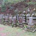 高野山金剛峯寺 奥の院(高野町)毛利家墓所