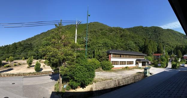 須賀谷温泉(長浜市)より小谷城