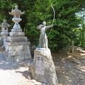 Photos: 虎御前山城(長浜市)矢合神社