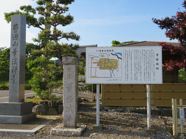 曽根城(大垣市)本丸/華渓寺