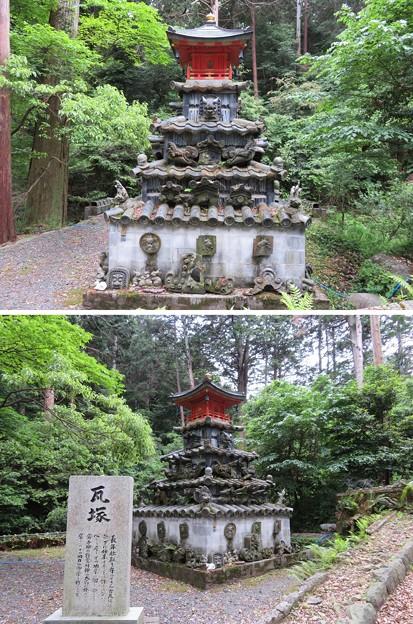 南宮大社(垂井町)瓦塚