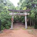 菩提山城(垂井町)登城口・白山神社
